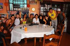 die Brasilianer im Hostel in Teresópolis