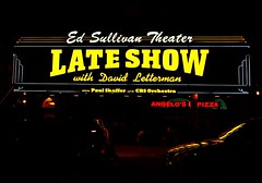 David Latterman Theater In NY (al-absi) Tags: ny newyork david sign comedy manhattan lateshow olympus latterman 1442 e620