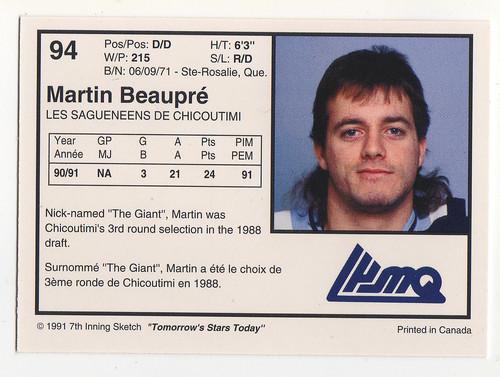 LH Martin Beaupre