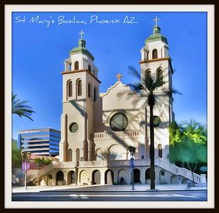 St. Mary's Basilica, Phoenix AZ
