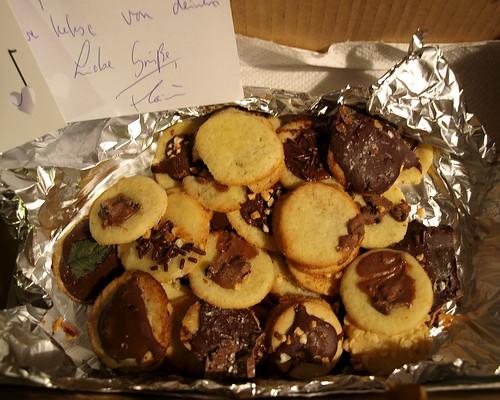 Weihnachtswunder: Kekspaket mit Herznote