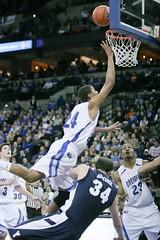 Jays_vs_BYU (17) (White & Blue Review) Tags: bluejays creighton byu brighamyounguniversity creightonbluejays byucougars bluejaysbasketball adamstreur creightonbasketball