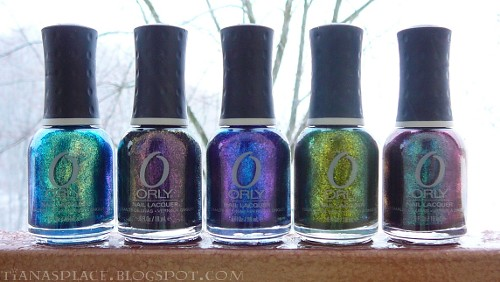 Orly Cosmic FX collection #1