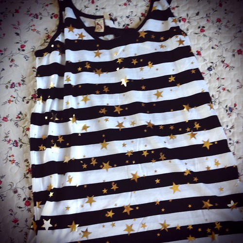French Connection stars and stripes tank