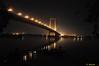 2nd Hoogly Bridge (Vidyasagar Setu) (Anjan05) Tags: india nikon nightshot kolkata westbengal cablestaybridge 2ndhooglybridge vidyasagarsetu cityofjoy incrediblebengal poschimbangla stunningphotogpin bestphoto4gpinaug2011 anjan05