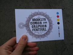 At the Brooklyn Comics and Graphics Festival!