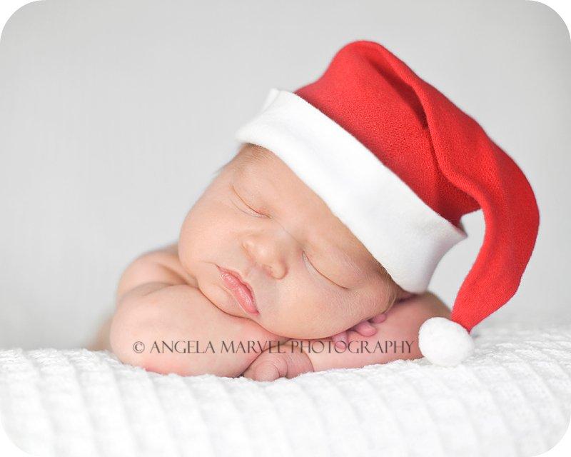 Newborn's First Christmas