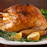 Roasted Turkey with Citrus and White Truffle Butter