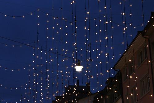 Rennweg im vorweihnachtlichen Lichterglanz