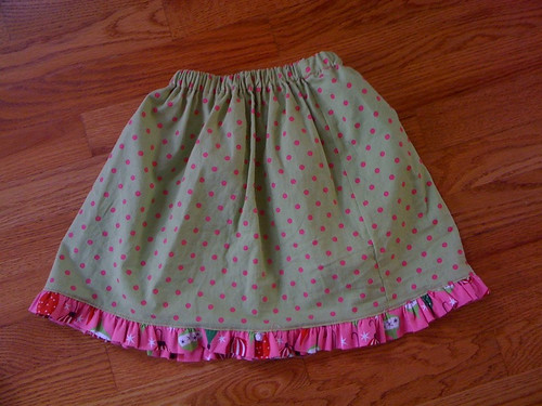 Oliver + S lazy days skirt (with modifications)