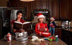 Family Christmas 2010 (isayx3) Tags: christmas xmas family boy portrait holiday girl cookies mom baking nikon daughter scene 24mm pocket studios f28 60 47 d3 wizards sunpak sb800 120j strobist plainjoe softlighter isayx3 plainjoephotoblogcom