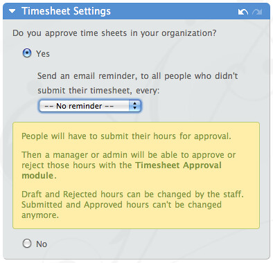 Introducing Timesheet Approval And Automatic Reminders  The