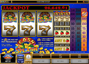 Cash Splash slot game online review