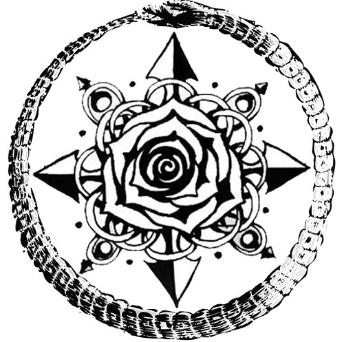 rose tattoo designs for wrist. This tattoo design (intended for my right inner wrist) includes a compass