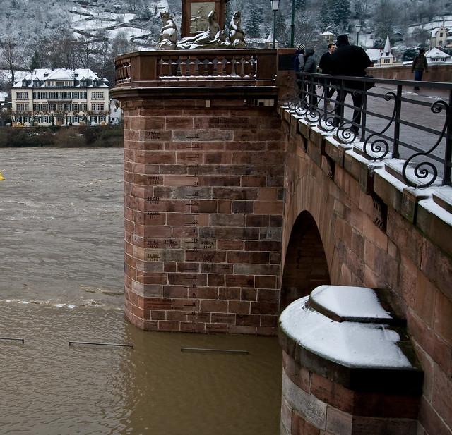 Hochwasser Stand
