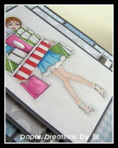 Girl Present detail