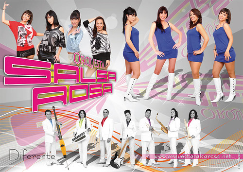 Salsa Rosa 2011 - orquesta - cartel