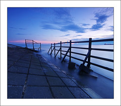 Grid (night86mare) Tags: travel light sunset beach clouds indonesia long exposure wide kr hanger 10mm balikpapan melawai