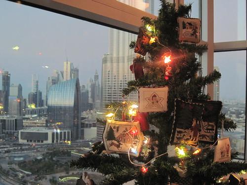 Christmas Tree in Dubai