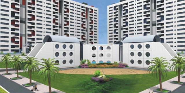 Kumar Pebble Park Handewadi Hadapsar Landscape