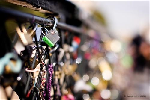 a lock, no key