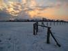 Wismar Wendorf - Winter evening (.patrick.) Tags: schnee winter snow fence evening abend zaun wismar mecklenburgvorpommern mecklenburgwesternpomerania wendorf ostseeblick hinterwendorf