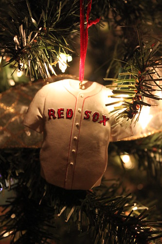 Obligatory Red Sox Ornament