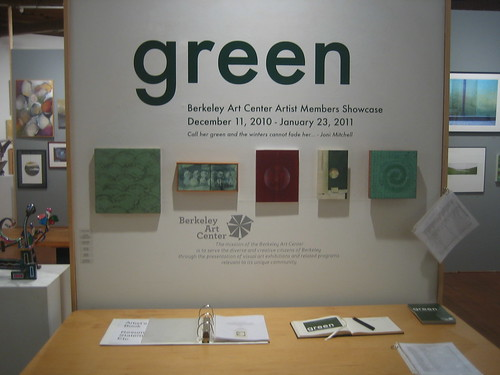 Green - Berkeley Art Center Member Show 20109392