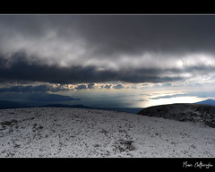 'Winter mood' Series #1 (1153m Above Sea level) (Manos Eleftheroglou (Photography)) Tags: blue winter light sunset sea sky white mountain snow seascape colour film nature clouds landscape island greek high nikon europe mt hiking top altitude horizon north aegean scenic hellas scene east greece summit snowfall griechenland soe samos 2010 snowscene waterscape sealevel supershot karvounis wintermood photographyrocks   mywinners abigfave   d5000 anawesomeshot aplusphoto   flickraward     nikonflickraward  artofimages   nikond5000  mygearandmepremium mygearandmebronze mygearandmesilver mygearandmegold makisamos