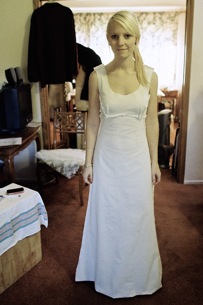 this is my wedding dress