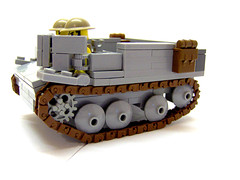 Universal Carrier Revamped! (Carpet lego) Tags: light sculpture white dark french grey gun all lego background brodie tan some gear backpacks ww2 british boxes universal ammo decals troops carrier troop bren allies minifigure treads minifigures brickarms roaglaan
