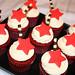Red Velvet Star Cupcakes