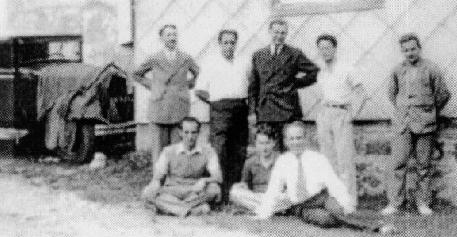 Algunos fundadores del grupo Bourbaki