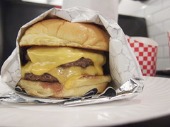Burger Garage (Adam Kuban) Tags: nyc newyorkcity food dinner queens burgers lic longislandcity cheeseburgers theburgergarage