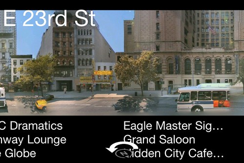 Bing iPhone App 2.0 -  Streetside