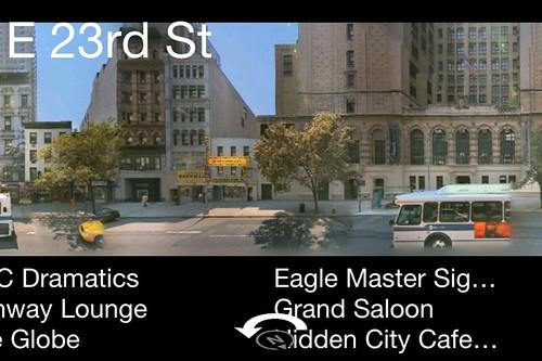 Bing iPhone App 2.0 -  Streetside