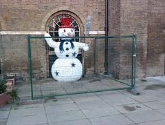 Snowman West India Quay