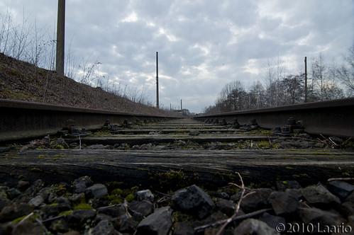 """Landschaftspark - Train Track • <a style=""""font-size:0.8em;"""" href=""""http://www.flickr.com/photos/53054107@N06/5269378611/"""" target=""""_blank"""">View on Flickr</a>"""