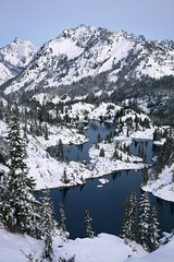 Rampart Lakes Winter Alpine Lakes WA (jeremyjonkman) Tags: photography jeremy jonkman