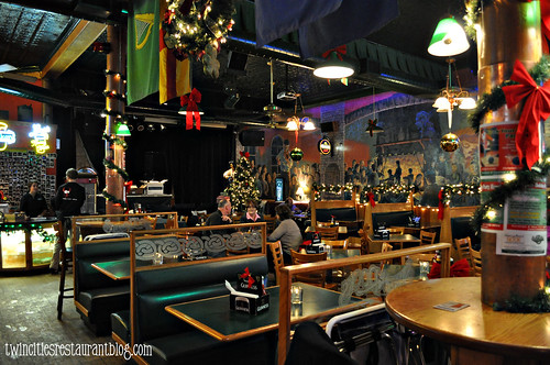Inside Shamrock's Irish Pub ~ St Paul, MN