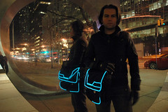 Tron Bag by bekathwia