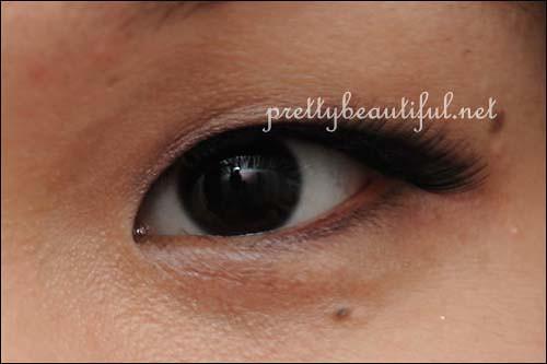 DJ Brand Handmade Eyelashes (DJ-12) With Eye Open