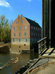 Bollinger Mill and Mill Dam 6 (whitebuffalobk) Tags: mill missouri coveredbridge burfordville bollingermill milldam