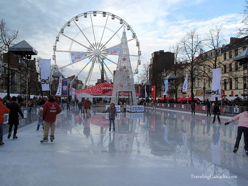 Ice Rink in Brussels, Belgium