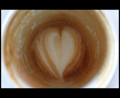 Caffeine (LucysView (Off for a while, back Dec 2016!)) Tags: coffee heart latte froth