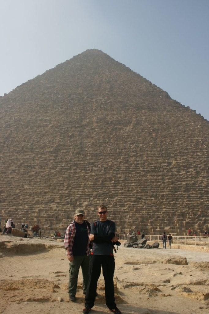Khufu and me and my bro 2