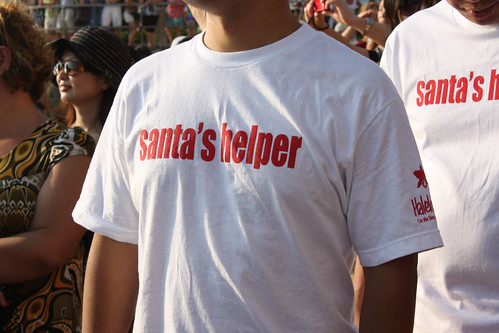 Santa's Helpers at the Halekulani