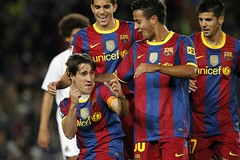 Barcelona vs Ceuta (Kwmrm93) Tags: sports sport football fussball soccer futbol futebol fotball celebrating ftbol voetbal fodbold calcio deportivo fotboll pika  deportiva fusball  fotbal jalkapallo   nona nogomet       votebol fodbal
