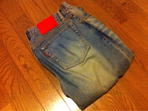 バーバリーブラックレーベルのジーンズ