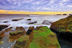 Mengening beach saturation+ (Vincent Herry) Tags: bali panorama beach landscape slowspeed mengeningbeach